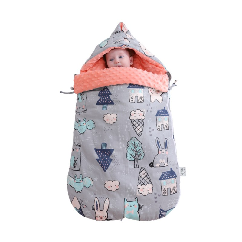 Baby cotton anti-shock autumn and winter thickenin...